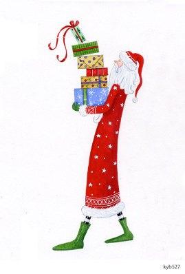 Lollystick Santa - kyb527