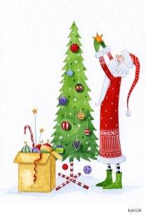 Lollystick Santa - kyb528