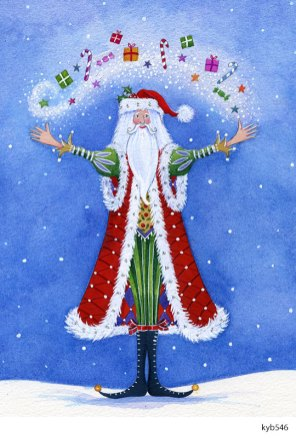 Lollystick Santa - kyb546