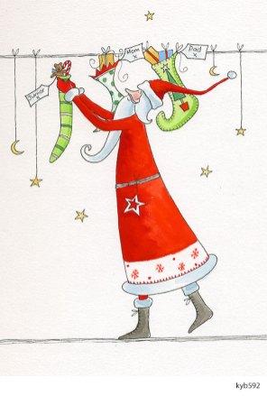 Lollystick Santa - kyb592