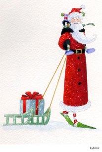 Lollystick Santa - kyb762