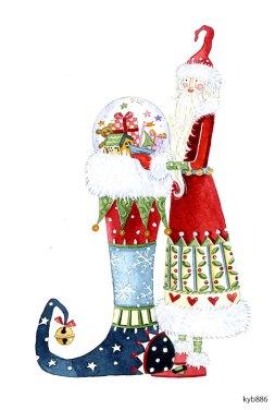 Lollystick Santa - kyb886