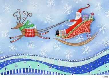 Lollystick Santa - kyb992