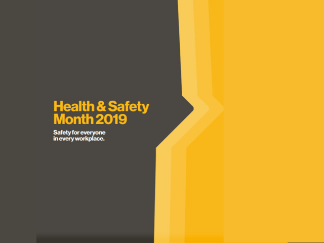 Health and Safety Month (2019) and our Proudest Contributions
