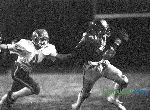 Henry Clay, Lafayette football, 1981 | Kentucky Photo Archive