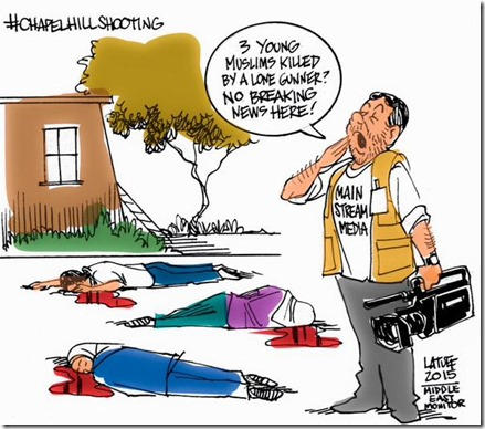 muslim deaths at UNC