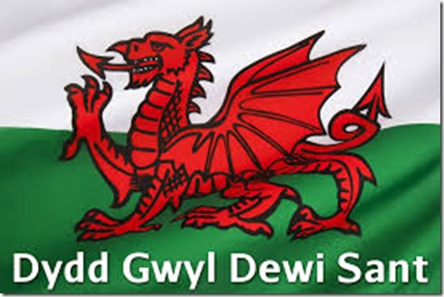 St David's Day flag