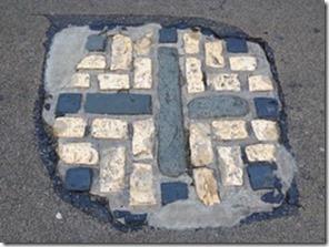 cobblestone cross for oxford martyrs