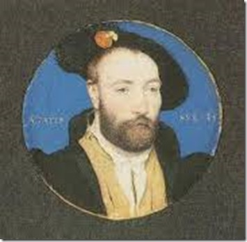 Thomas Seymour miniture by Holbein