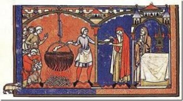 mideval cookery