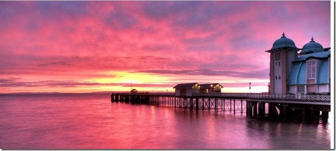 penarth_pier at sunset
