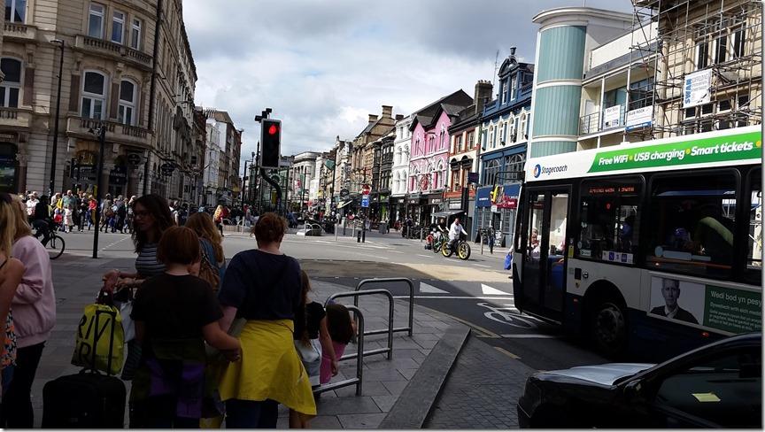 busy Cardiff