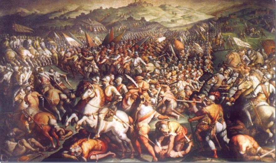 Scannagallo_Vasari Italian Wars