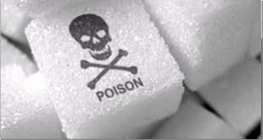 sugar is posion