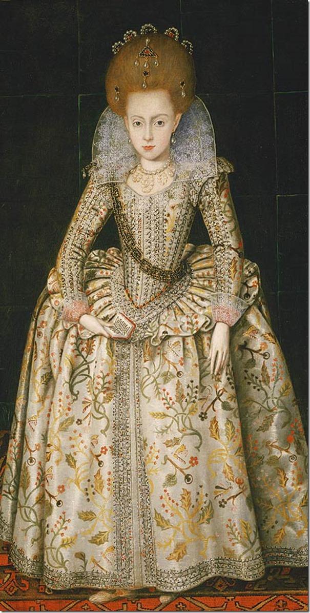 Elizabeth Stuart age 10