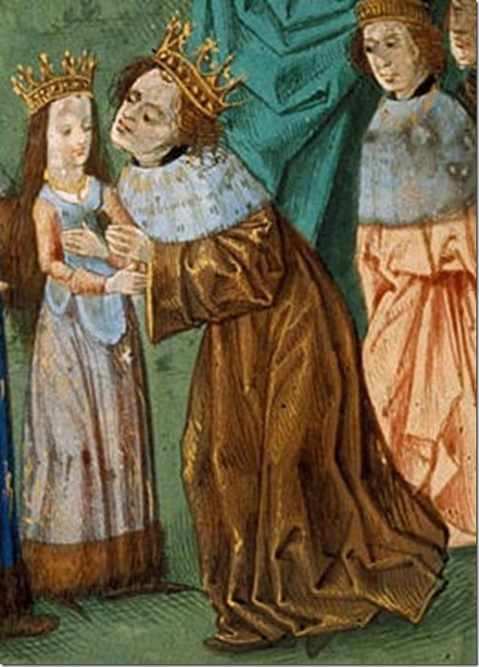 Isabela of Valois married Richard II