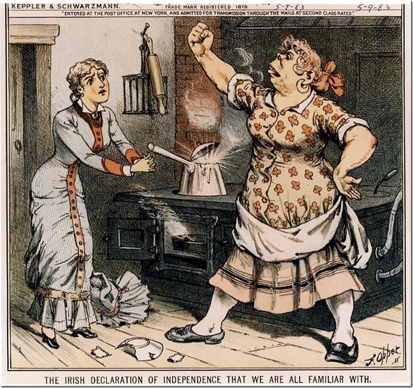 anti-Irish brute women