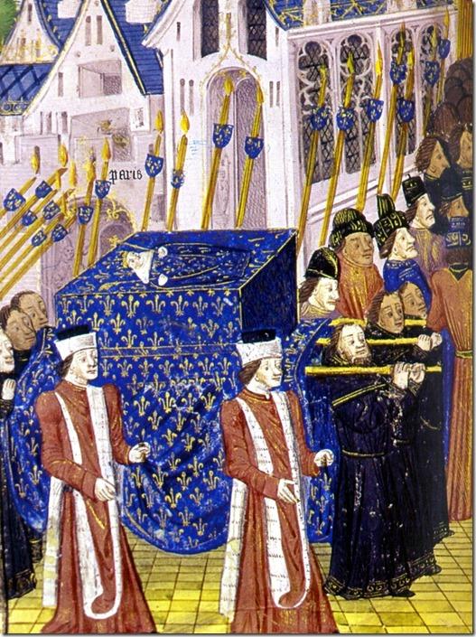 funeral procession John I the Postumous