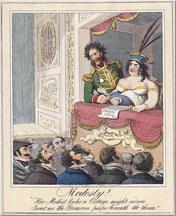 Modesty_1821 Caroline of Brunswick