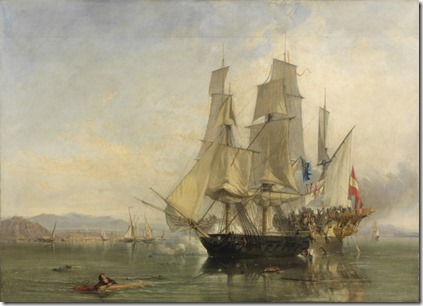Napoleonic War Naval Battle