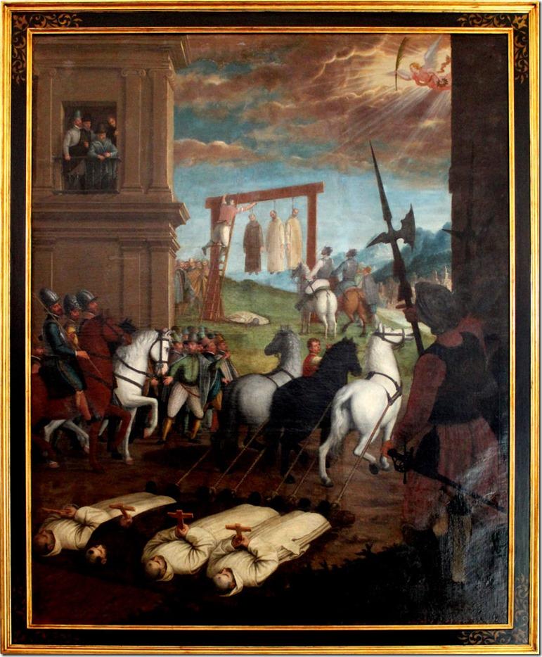 carthusian monks death henry VIII