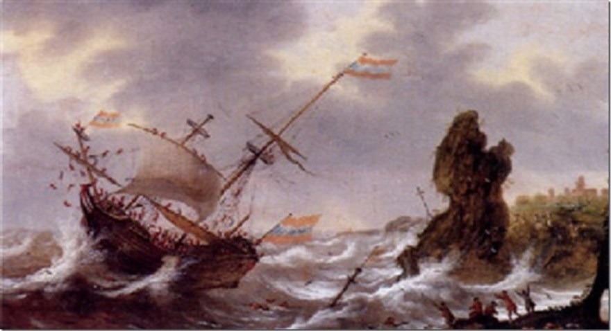 jan-van-leyden-a-threemaster-shipwrecked-off-a-rocky-coast,-with-sailors-coming-to-the-rescue