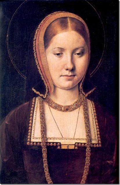 Katherina of Aragon when young