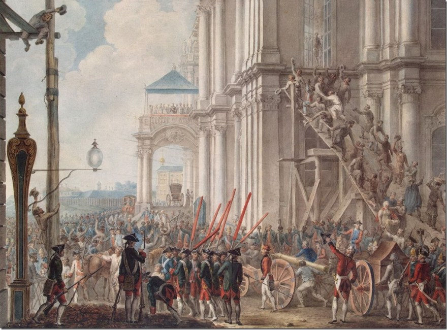 coup of Catherine the great