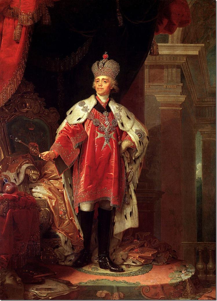 Borovikovskiy_Paul I of Russia