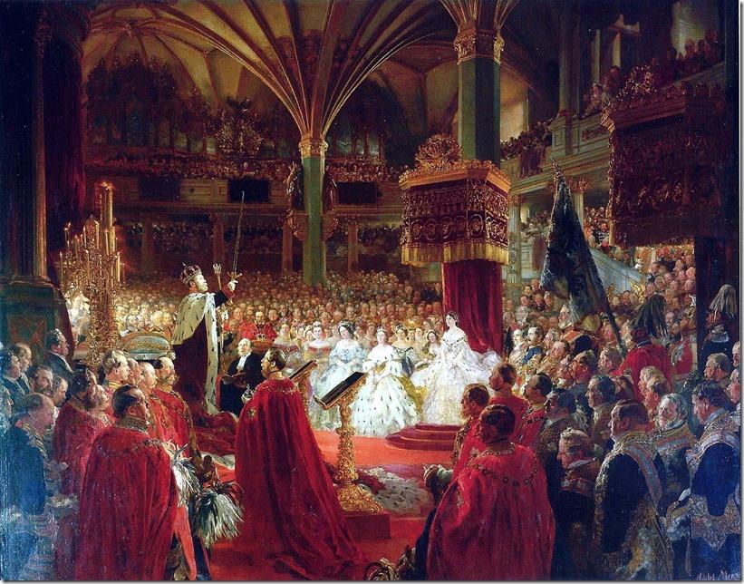 Wilhelm crowned Prussia Krönung_1861