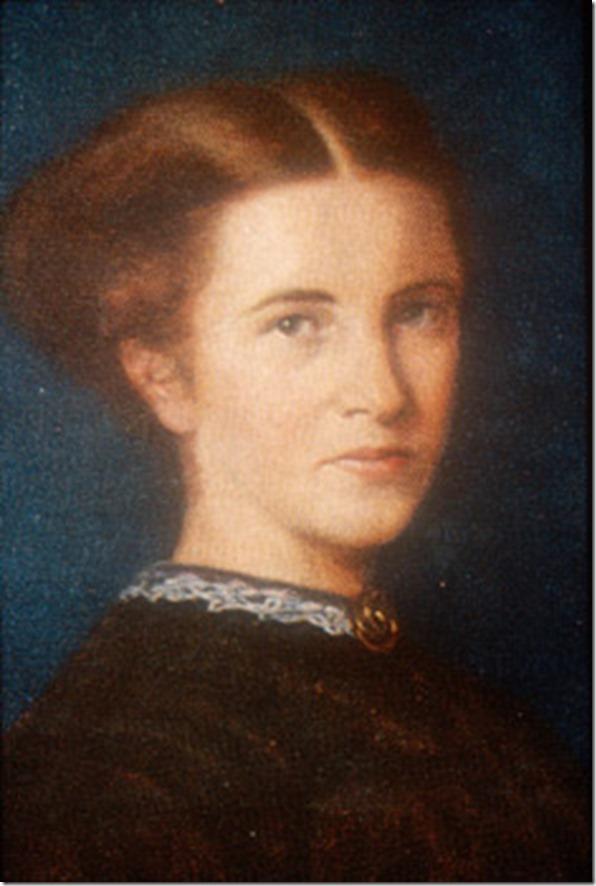 Elizabeth Garrett in 1860s