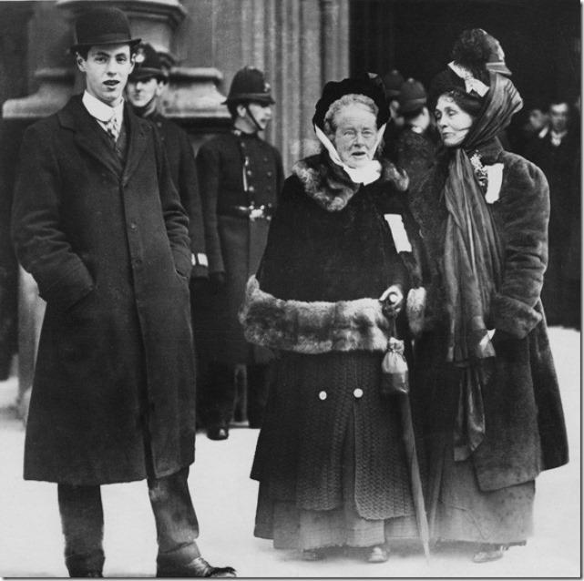 NPG x32106; Elizabeth Garrett Anderson; Emmeline Pankhurst