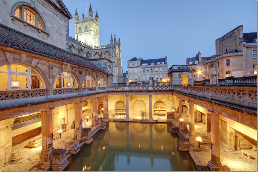 bath roman