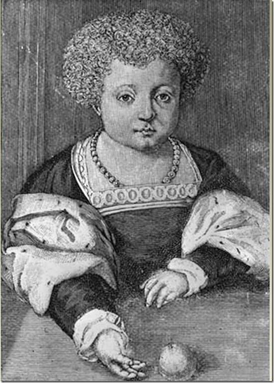 henry viii portrait about 12 years old
