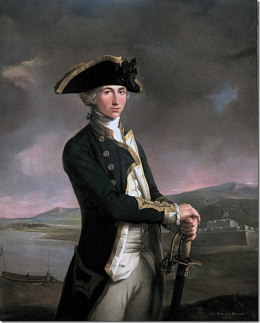 Young Horatio Nelson