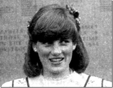 diana-spencer as brides maid in sister jane wedding