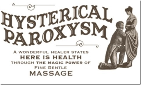 hysterical paroxysm massage