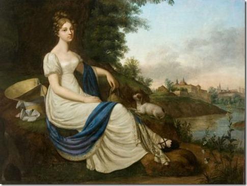 regency-era delicate lady