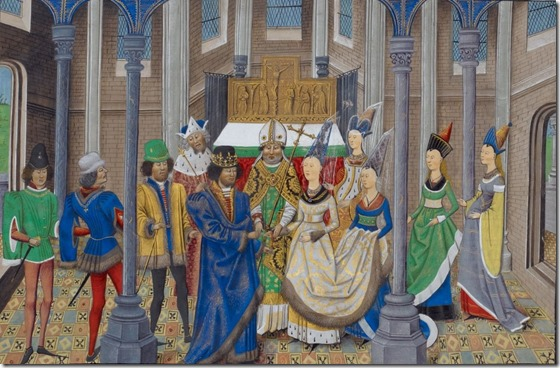 Marriage of João I and Phillipa of Lancaster
