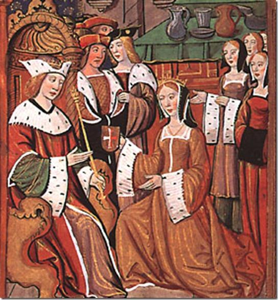 Mary Tudor weds Louis XII