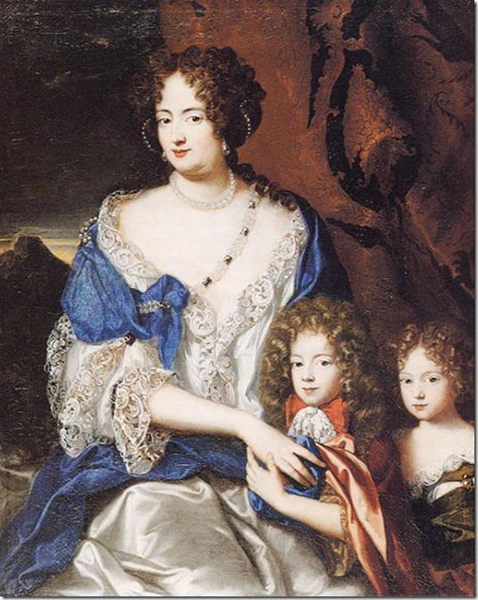 Sophie_Dorothea_ of Celle with children Prinzessin_von_Ahlden