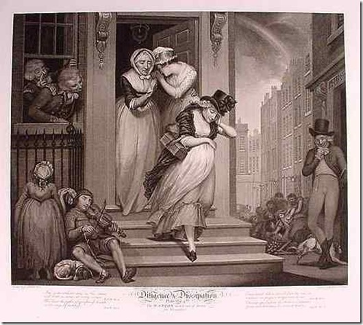 wanton servant turned away
