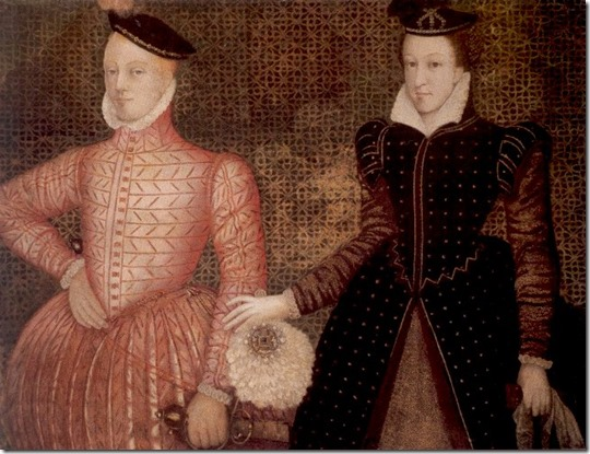Queen Mary_Stuart and James_Darnley