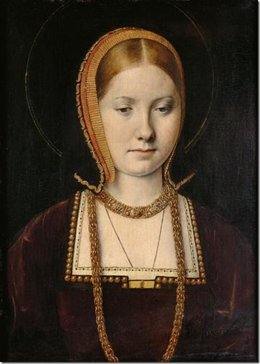 Katherina of Aragon 1502 by Michel_Sittow