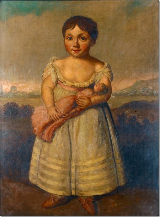 Horatia Nelson as a toddler