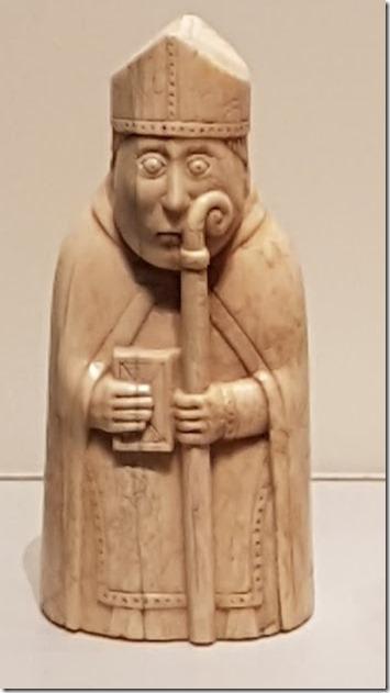 Lewis Chessmen at British Museum 4