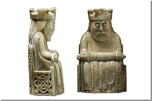 Lewis chess king