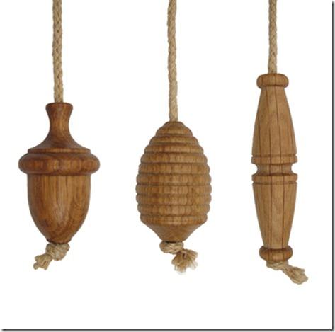 acorn light cord pull-ends