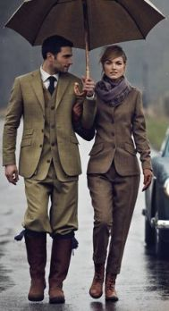 Fashion- matchng suits for men and women
