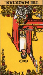 Magician Tarot Reversed